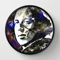 WILDE Wall Clock by The Griffin Passant
