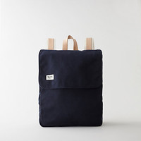 LEATHER CANVAS CANOE BACKPACK