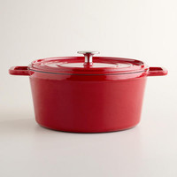 Cherry Round Dutch Oven