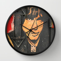 Marky Ramone-2A Wall Clock by The Griffin Passant