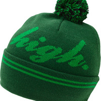 Odd Future Domo High Green Pom Fold Beanie