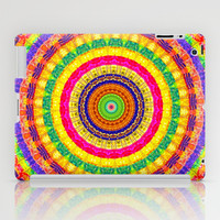 Batik Bullseye iPad Case by Peter Gross