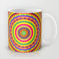 Batik Bullseye Mug by Peter Gross