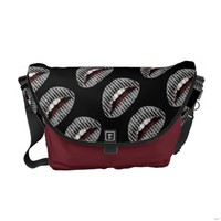 Black Onyx Kiss Messenger Bag