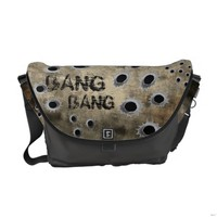 Bang Bang Grunge Messenger Bag