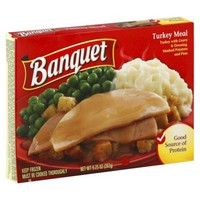 Banquet Frozen Turkey Meal 9.25 oz
