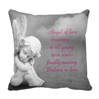 Angel of love, dreaming of twin souls first meting