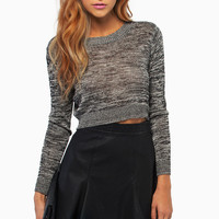 Sabrina Cropped Sweater $44