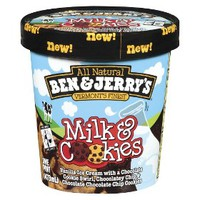 Ben & Jerry's Milk & Cookies Ice Cream 16oz