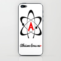 Atheismo Loves Me iPhone & iPod Skin by Hoshizorawomiageteiru