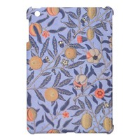 Vintage Fruit Leaf Pattern Fabric iPad Mini Case