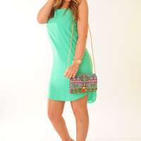EVERLY: All You Got Dress: Caribbean Green | Hope's