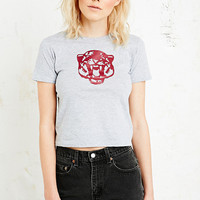 Vintage Renewal Tiger Tee in Grey - Urban Outfitters