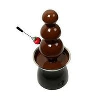 21 inch Chocolate Fondue Fountain with 3 Tiers and Heated Base, Model 9805