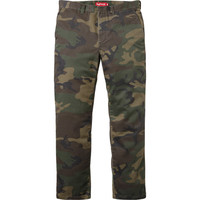 Supreme: Work Pant - Woodland Camo