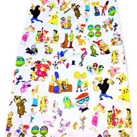 90'S CARTOON SKIRT