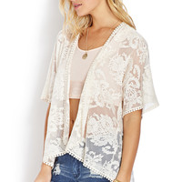 Ethereal Lace Cardigan