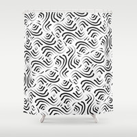 Abstract Pattern 1 Shower Curtain by mollykd
