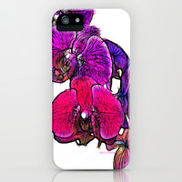 :: Orchids at Breakfast :: iPhone & iPod Case by GaleStorm Artworks