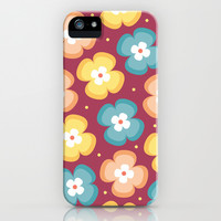 Floral Pattern 4 iPhone & iPod Case by mollykd