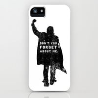 John Bender Doesn't Want You To Forget iPhone & iPod Case by LookHUMAN