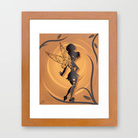 Fairy Of Peter Pan Framed Art Print by LouJah