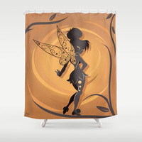 Fairy Of Peter Pan Shower Curtain by LouJah