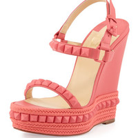 Cataclou Studded Wedge Sandal, Pink