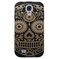 Day Of The Dead Sugar Skull Samsung Galaxy S4 Case