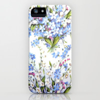 Forget me iPhone & iPod Case by Shalisa Photography