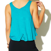 Aztec Tape Trim Tank | Wet Seal