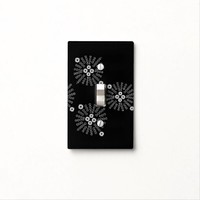 """Bursting Again"" Light Switch Cover"