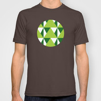 Geometric Pattern 3-Green T-shirt by mollykd