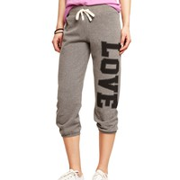 LOVE EXPRESS SLIM CROPPED SWEATPANT
