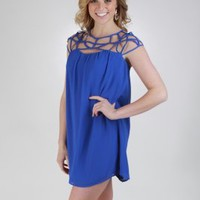 Webbed Shift Dress