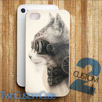 Steampunk Cat - iPhone 4/4S, 5/5S, 5C Case and Samsung Galaxy S3, S4 Case.