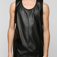 Damaged Goods Leather Front Tank Top - Urban Outfitters