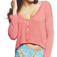 High-Low Knit Cardi | Wet Seal