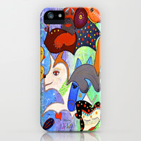 SERENE BARKS iPhone & iPod Case by Adka