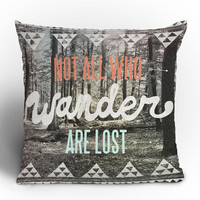 DENY Designs Home Accessories | Wesley Bird Wander Throw Pillow