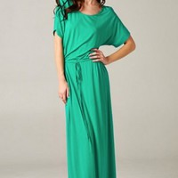 Rivera Maxi Dress- Green