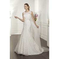 Organza and Taffeta Vintage Vintage Sleeveless Mermaid Wedding Dress