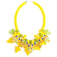 EK THONGPRASERT | Wrexham Buttercup Embellished Silicone Necklace | Browns fashion & designer clothes & clothing