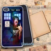 austin carlile on doctor who galaxy _ iphone 4/4s,5/5s,5c samsung s3,s4 Case Design By : IDstore.