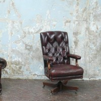 Castle Gibson - leather desk chair