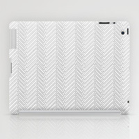 Herringbone DIY iPad Case by Project M