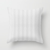 Herringbone DIY Throw Pillow by Project M