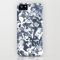 My blue butterflies iPhone & iPod Case by Juliagrifol designs
