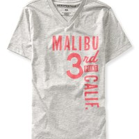 Malibu Graphic V-Neck T