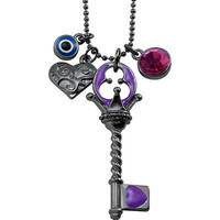 West Coast Jewelry Key/Heart/Evil Eye/Crystal Fashion Pendant | Meijer.com